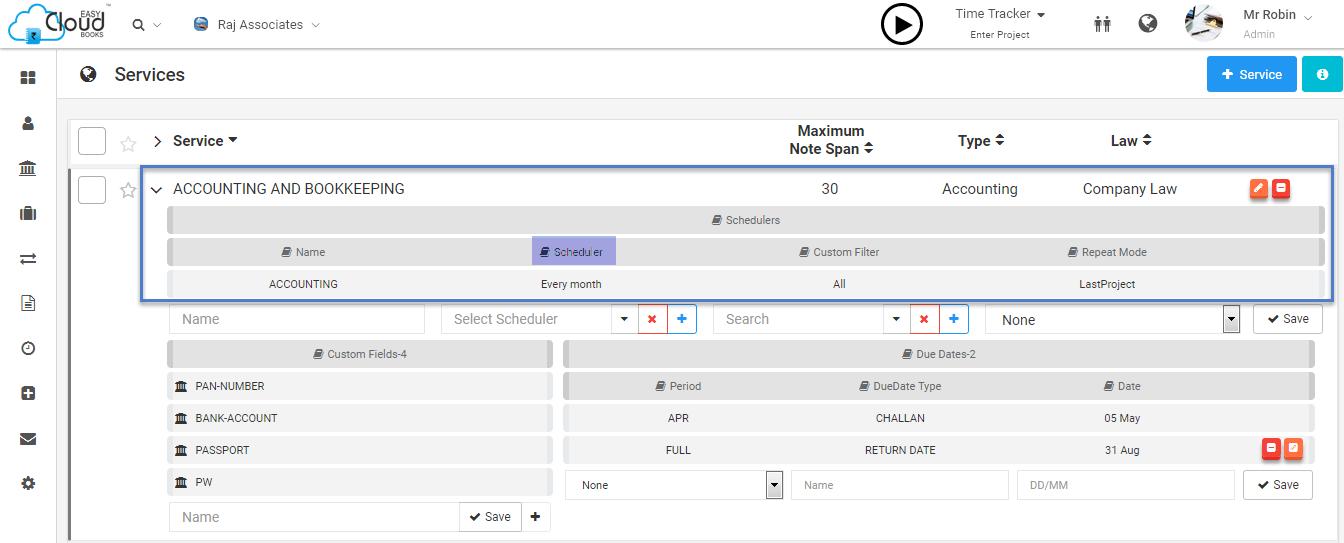 Automate Recurring Services Through Scheduler